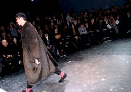 An amazing fake fur coat at the Comme Des Garçons F/W 2010…
