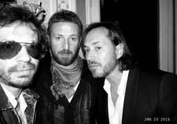 Olivier Zahm, Stefano Pilati, and Marc Newson at the Yves Saint Laurent…