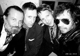 Four editors: Robert Rabensteiner (L'Uomo Vogue), Gert Jonkers (Fantastic Man), Jefferson Hack…