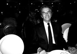 The cult former French Minister of culture Jack Lang at the Sidaction…