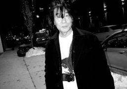 Daido Moriyama outside his show Hawaii until March 13th at Luhring Augustine,…