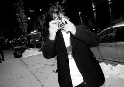Daido Moriyama taking my picture at the opening of his show Hawaii…