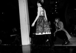 Another gorgeous dress from Prada Fall/Winter 2010/11 collection, Milan. Photo Olivier Zahm