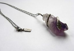 Purple Product: The first Purple Necklace by Pamela Love
