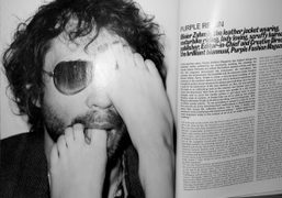 Purple reign by Ben Reardon and photo by terry richardson in the...