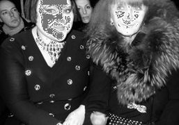 Beth Ditto and Sonia Rykiel at the Sonia Rykiel F/W 2010 show,…