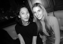 The Alexander Wang & Gaia Repossi Dinner at Cafe de Flore