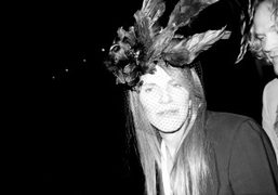 Anna Dello Russo backstage after the Givenchy F/W 2010 show, Paris. Photo…