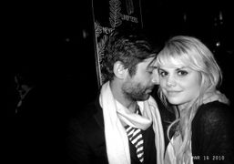 André Saraiva and the sweet Canadian pop singer Béatrice Martin at Le…