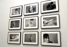 A wall of Ryan McGinley's picture at Everybody Knows This Is Nowhere,…