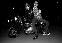 So happy to have Terry Richardson back in Paris. Photo Olivier Zahm