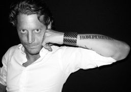 Lapo Elkann at the launch party for his men's jewelry collaboration with…