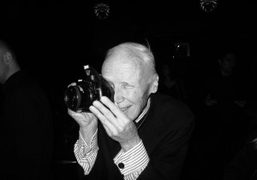 An hommage to fashion and backstage photographer Bill Cunningham at the premiere…