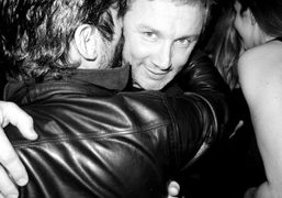 Andre Saraiva and Thierry Gillier at Le Montana, Paris. Photo Olivier Zahm