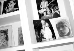 Details of Kim Gordon's show The Noise Paintings, at John McWhinnie @…