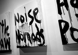 The noise Paintings by Kim Gordon