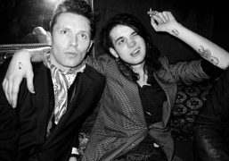 Robert Montgomery and Jethro Lazenby-Cave at the Yazbukey House of Drama party…
