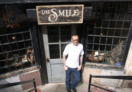 Brunch with Terry Richardson at The Smile (one of his favorite places,…