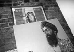 A portrait of Waris Ahluwalia at his apartment, New York. Photo Olivier…