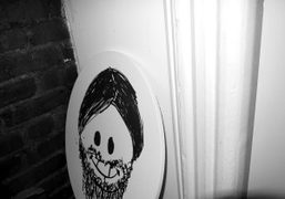 A portrait of Waris Ahluwalia by Nate Lowman at his apartment, New…