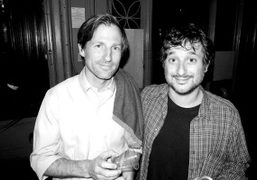 Two of Purple favorite's filmmakers, Spike Jonze and Harmony Korine, at the…