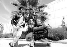 Andre Saraiva on his way to Saint Tropez for the Chanel Cruise…