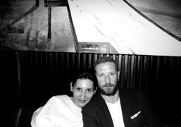 Louise Neri and Stefano Pilati at Colicchio & Sons for dinner, New…