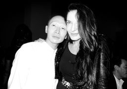 THE MARINA ABRAMOVIC FINISSAGE DINNER at moma with givenchy