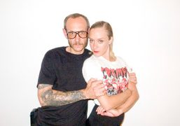 My favorite New Yorkers Terry Richardson and Chloe Sevigny, New York. Photo…