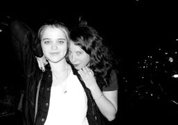 Sky Ferreira and Olympia Le-Tan at Gemma, Bowery Hotel, New York. Photo…