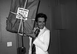 Vincent Darré bringing gifts from La Maison Darré to the whole Purple…