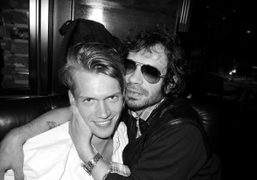 Olivier Zahm and the sexy brother of Daphné, Tom Guinness, Standard Grill,…