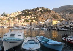 Holydays with Vincent Darre and Elie Top in Symi