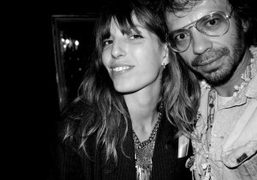Lou Doillon and me at her birthday, Paris. Photo Olivier Zahm
