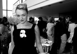 Yaz Bukey at the Couture Council Luncheon in honor of Karl Lagerfeld,…
