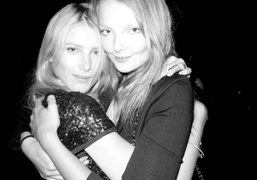 Dree Hemingway and Eniko at the Zadig et Voltaire dinner, Le Bain,…
