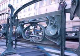 Guimard entrance to the metro, Paris. Photo Olivier Zahm