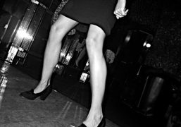 Dancing at Le Montana, Paris. Photo Olivier Zahm
