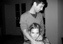 Andre Saraiva and Annabelle Dexter-Jones at André's new appartement, Paris. Photo Olivier…