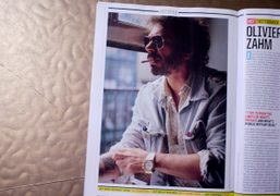 Olivier Zahm, photographed by Theo Wenner, in the current issue of Rolling…