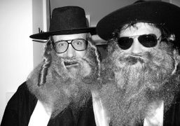 Terry Richardson and Olivier Zahm getting ready for the Heaven and Hell…