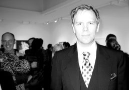 John Currin at his new exhibition at Gagosian Gallery, Madison Avenue, New…