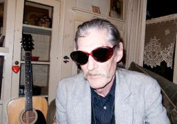 Terry Richardson's stepdad Jackie Lomax, at his mother's place, Los Angeles. Photo…