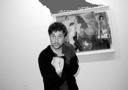 Harmony Korine at the opening of Shadow Fux, a two-person show by…