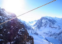 Another view of the Mont-blanc, Argentières, Chamonix. Photo Olivier Zahm