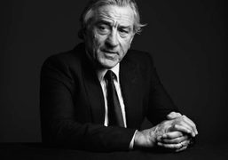 Amazing portrait of Robert DeNiro by Hedi Slimane