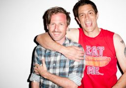 Spike Jonze and Johnny Knoxville, New York. Photo Terry Richardson
