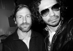 Spike Jonze and Olivier Zahm at Olympia Le Tan's presentation, New York….