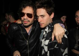 Olivier Zahm and Jared Leto at the Boom Boom Room for the…