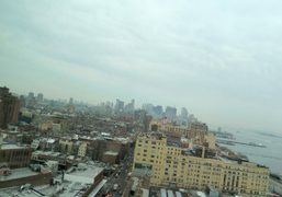 Leaving New York, a last view of downtown from the other side…